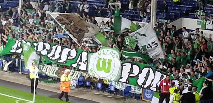 VfL Wolfsburg fans